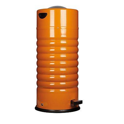 Abfallbehälter mit Pedal, Volumen 44 l, HxØ 780 x 350 mm