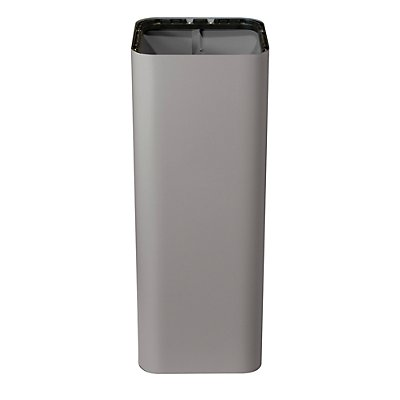 Abfallbehälter PURE, Volumen 60 l, BxHxT 300 x 800 x 300 mm