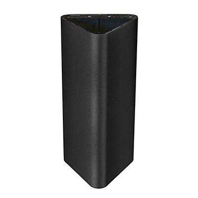 Abfallbehälter PURE ELEGANCE, Volumen 60 l, BxHxT 380 x 800 x 380 mm