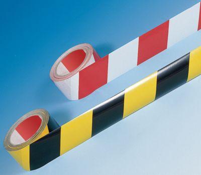 Selbstklebendes Warn- und Markierungsband - Farbe gelb / schwarz