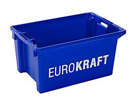 Drehstapelbehälter - Volumen 50 l, VE 3 Stk - blau