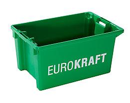 Drehstapelbehälter - Volumen 50 l, VE 3 Stk - grün