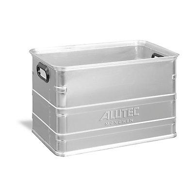 Transportkasten aus Aluminium - europalettengerecht
