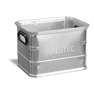 Caisse de manutention en aluminium - compatible avec palettes Europe