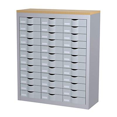 Paperflow Sortierstation mit 36 Schüben - 3 Reihen