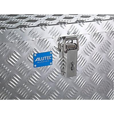 ALUTEC Alu-Transportkiste Riffelblech - 250 l Inhalt