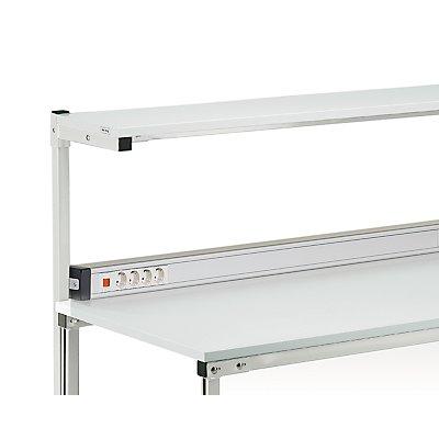 TRESTON Energieleiste - für Arbeitstisch TPH mit Etagenbord