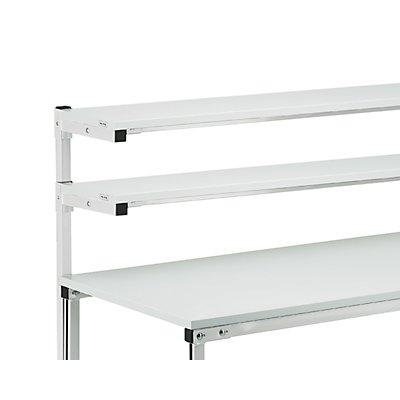 TRESTON Etagenbord - passend für Arbeitstische mit Etagenbord - für Tischbreite 1200 mm