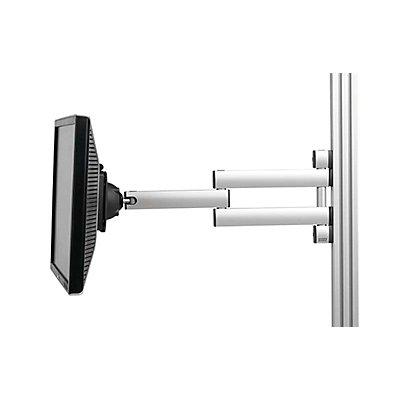 Flachbildschirmhalter - Doppelschwenkarm - Tragfähigkeit 15 kg