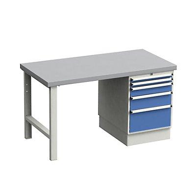 TRESTON Werkbank - mit Schubladenblock