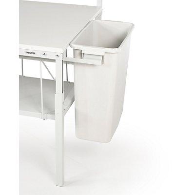 TRESTON Papierbehälter - zum Anhängen - für Packtisch