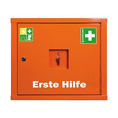 SÖHNGEN Verbandschrank nach DIN 13157 - eintürig, signalorange, HxBxT 420 x 490 x 200 mm