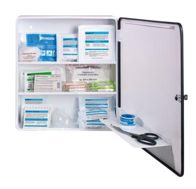 Armoire à pharmacie conforme à la norme DIN 13157 - à 1 porte, blanc,... par LeGuide.com Publicité