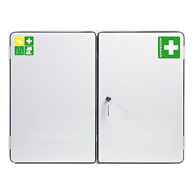 SÖHNGEN Verbandschrank nach DIN 13169 - doppeltürig, weiß, HxBxT 462 x 604 x 170 mm