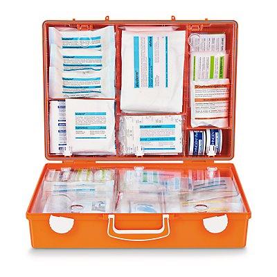 SÖHNGEN Erste-Hilfe-Koffer nach DIN 13169 - signalorange, HxBxT 300 x 400 x 150 mm