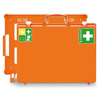 Erste-Hilfe-Koffer nach DIN 13169 - signalorange, HxBxT 300 x 400 x 150 mm - ohne Inhalt