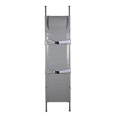 SÖHNGEN Krankentrage - 1 x klappbar, Faltmaße 1920 x 150 x 145 mm - 2 Sicherheitsgurte, 4 Gleitfüße