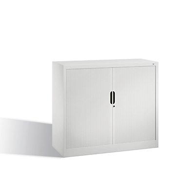 CP Rollladenschrank mit Horizontal-Jalousie - HxBxT 1030 x 1200 x 420 mm, 2 Fachböden, 2,5 Ordnerhöhen
