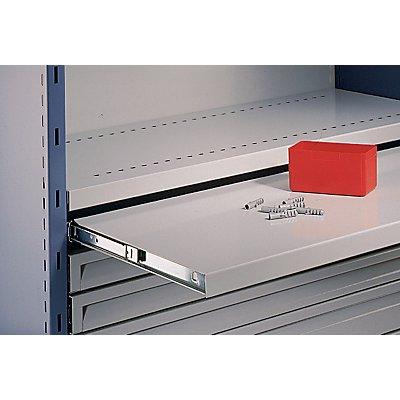 Ausziehboden für Regal-Schranksystem - voll ausziehbar