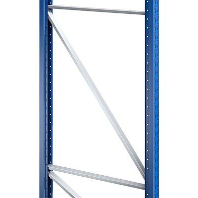 SLP Palettenregal-Stützrahmen, Traglast max. 10000 kg - Stützrahmenhöhe 2105 mm