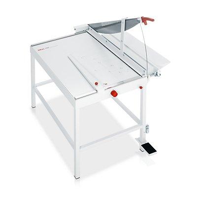 IDEAL Schneidemaschine - Schnittlänge 800 mm - mit Untergestell