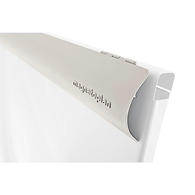 magnetoplan® Flipchart JUNIOR PLUS MOBIL - Schreibfläche 700 x 1000 mm - weiß / lichtgrau