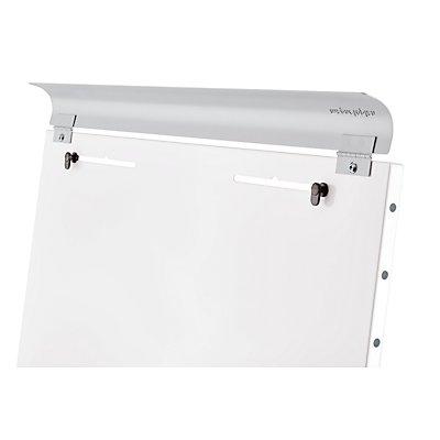 magnetoplan® Tableau de conférence JUNIOR PLUS - dimensions utiles: 680 x 980 mm, magnétique - hauteur réglable jusqu'à 1,85 m