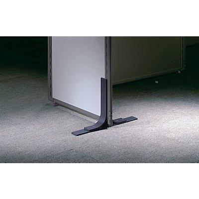 pied m tallique pour cloison acoustique d port 225 mm de chaque c t. Black Bedroom Furniture Sets. Home Design Ideas
