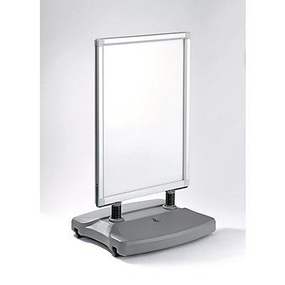 Werbeständer WINDTALKER - HxBxT 1215 x 625 x 500 mm