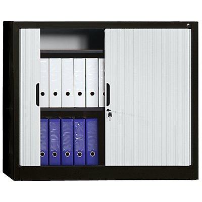 Rollladenschrank, Höhe 1030 mm - BxT 1200 x 420 mm, 2 Fachböden
