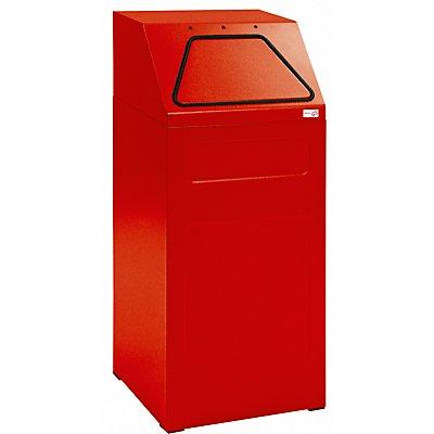 stumpf Wertstoffbehälter, 65 l Inhalt - Innenbehälter verzinkt, flammverlöschend