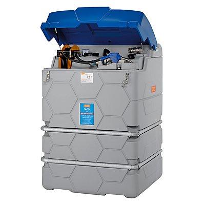 CEMO CUBE-AdBlue®-Tank - Indoor Premium, mit Klappdeckel, Höhe 1800 mm - Inhalt 1500 l