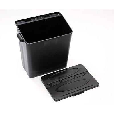 Abräumbehälter - mit Deckel - VE 2 Stück