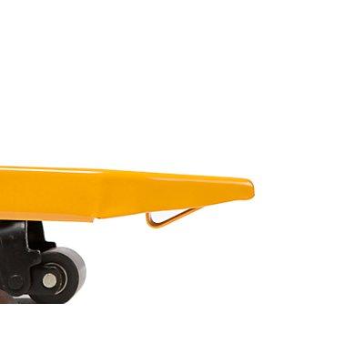 QUIPO Paletthubwagen, Tragfähigkeit 3000 kg Länge 1520 mm, mit Bremse