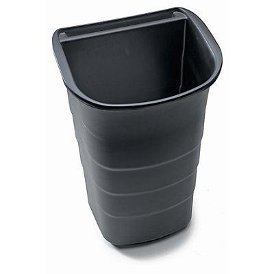Abfallsammler - schwarz, VE 2 Stück