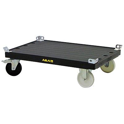 Transportwagen elephantboard® ESD, Palettenfahrgestell Ladefläche-LxB 1200 x 800 mm