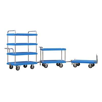 Routenzug TRACKLINER-elephant®, Etagenwagen mit 3 Etagen