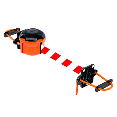 Skipper Magnet- / Seilhalterung - für Gurtabsperrung, schwarz / orange