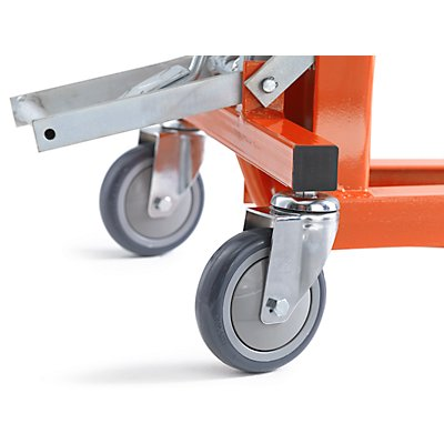 Display-Palettenheber, Hubbereich 88 – 125 mm Tragfähigkeit 200 kg