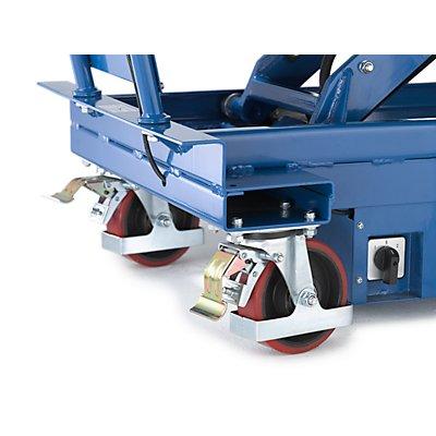 Hubplattformwagen, elektrisch, Hubbereich 520 – 1460 mm Tragfähigkeit 650 kg