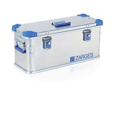 ZARGES Aluminium-Universalbox - Inhalt 41 l - Außenmaß TxBxH 690 x 280 x 310 mm
