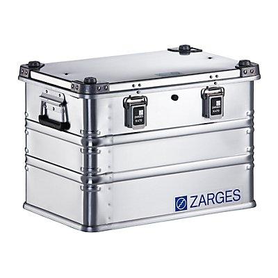 ZARGES Alu-Universalbox IP65 - Inhalt 70 l - Außenmaß TxBxH 600 x 400 x 410 mm