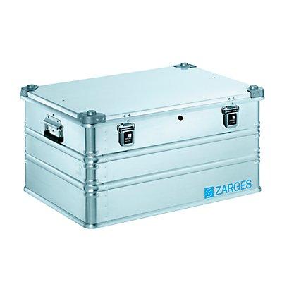 ZARGES Boîte universelle en aluminium IP65 - capacité 157 l - dimensions extérieures l x p x h 800 x 600 x 410 mm
