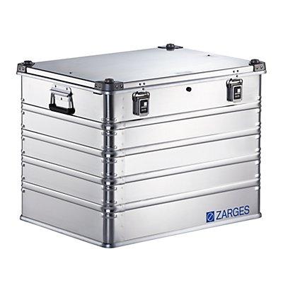 ZARGES Boîte universelle en aluminium IP65 - capacité 239 l - dimensions extérieures l x p x h 800 x 600 x 610 mm