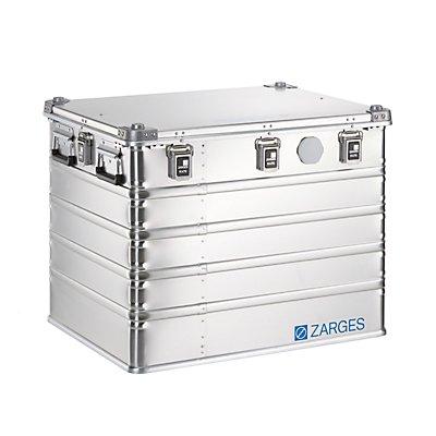 ZARGES Boîte universelle en aluminium IP67 - capacité 239 l - dimensions extérieures l x p x h 800 x 600 x 610 mm