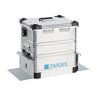 ZARGES Fixierungswinkel-Set - für Aluminium-Mobilbox Inhalt 50 l - für den Kofferraum, VE 2 Stück