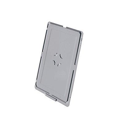 Deckel für Kunststoff-Stapelbehälter - für LxB 800 x 600 mm