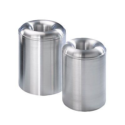 Collecteur de déchets PREMIUM auto-extinguible - en aluminium