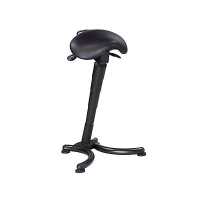 Stehhilfe - Sattelsitz ergonomisch - Gasfeder-Höhenverstellung