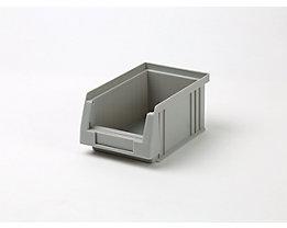 Sichtlagerkasten aus Polypropylen - Inhalt 0,7 l, VE 25 Stk - grau
